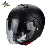 Шлем Scorpion Exo City Solid, Чёрный матовый