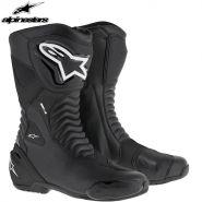 Мотоботы Alpinestars SMX S, Черные