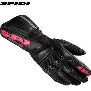 Мотоперчатки женские Spidi STR-5, Чернo-розовые
