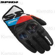 Мотоперчатки Spidi Flash-R Evo, Красно-синие